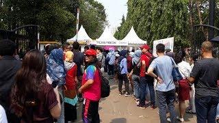 Jelang Penutupan Asian Para Games 2018, Area GBK Ramai Pengunjung