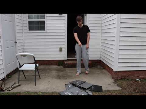 Mr Beast - Smashing Laptop compilation - 1