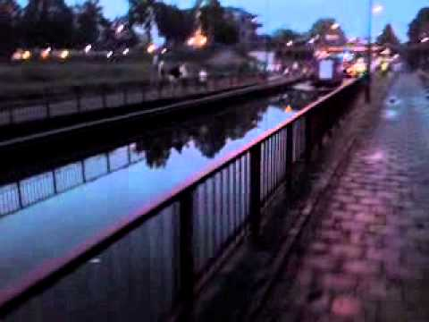 Overstroming Beersebaan in Cuijk