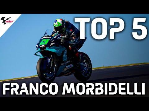 フランコ・モルビデリが見せた2020MotoGPレース中の名シーンベスト5をまとめたハイライト動画
