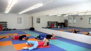 Posilování břicha - Hanka Kynychová - Abdomen training