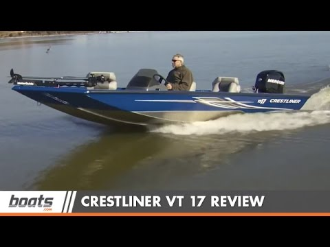 Crestliner VT 17 Aluminum Fishing Boat Review / Performance Test
