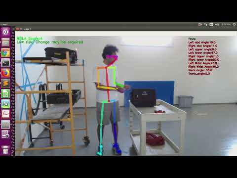 Posture Analysis and Injury Prevention using Computer Vision