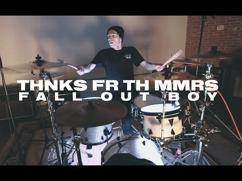 Fall Out Boy - Thnks Fr Th Mmrs | Dom D'Alfonso Drum Cover