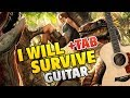Gloria Gaynor - I Will Survive (Fingerstyle Guitar Cover + Tabs)