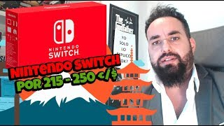 Nintendo Switch está a la venta por 215 / 250 Euros  ¿Te comprarías una a ese precio?