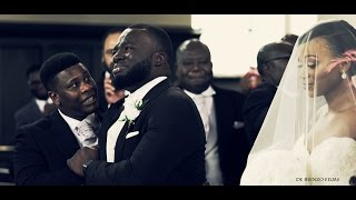 Groom Cries When He Sees His Bride / The Greatest Bridal Entrance.