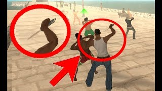 What happens when a Stealth Kill is performed with Tear Gas - GTA San Andreas
