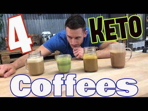 4 Types of Keto Coffee: Full Recipes