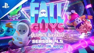 PlayStation Fall Guys: Ultimate Knockout - Season 4.5 Gameplay Trailer | PS4 anuncio