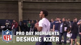 Deshone Kizer Pro Day Highlights & Mike Mayock's Analysis | NFL