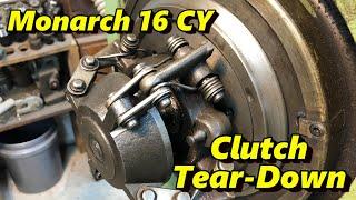 Monarch Lathe Clutch Repair Part 1