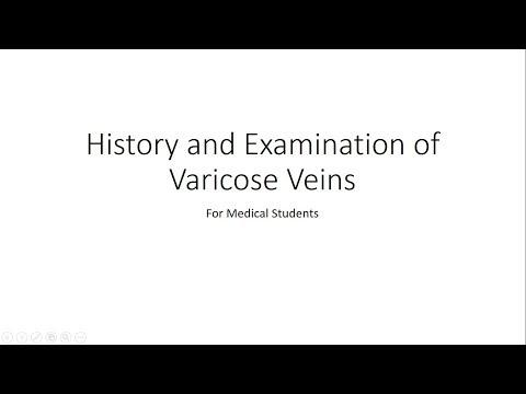 Olio allatto di posizione di varicosity
