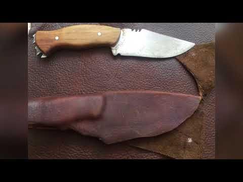 Fabricación de Funda para Cuchillo de Caza