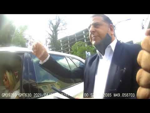 Vereador é gravado coagindo guarda de trânsito após esposa receber multa em SC