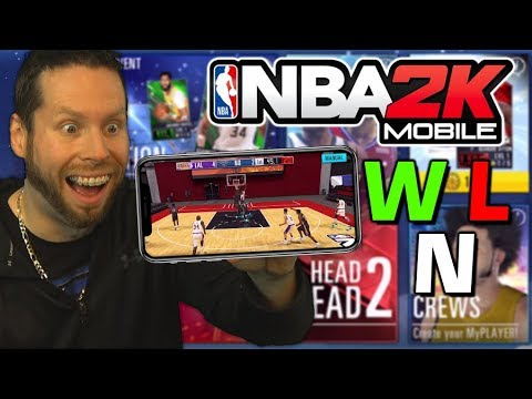 New NBA 2K20 Mode on your Phone? Is it a W L or N?