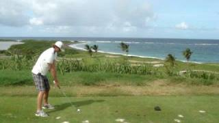 preview picture of video 'Jim on 14th Hole at Royal St. Kitts Golf Club'