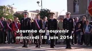 preview picture of video 'Journée du souvenir - Juin 2014'