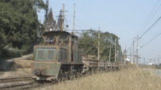 preview picture of video 'China Shaoxing Lizhu Narrow Gauge Railway Train Video 紹興漓渚ナローゲージ'