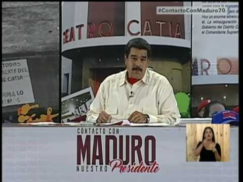 Video Presidente Nicólas Maduro