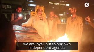 Artists Burn Artworks in Tel Aviv Square to Protest 'Cultural Loyalty' Bill