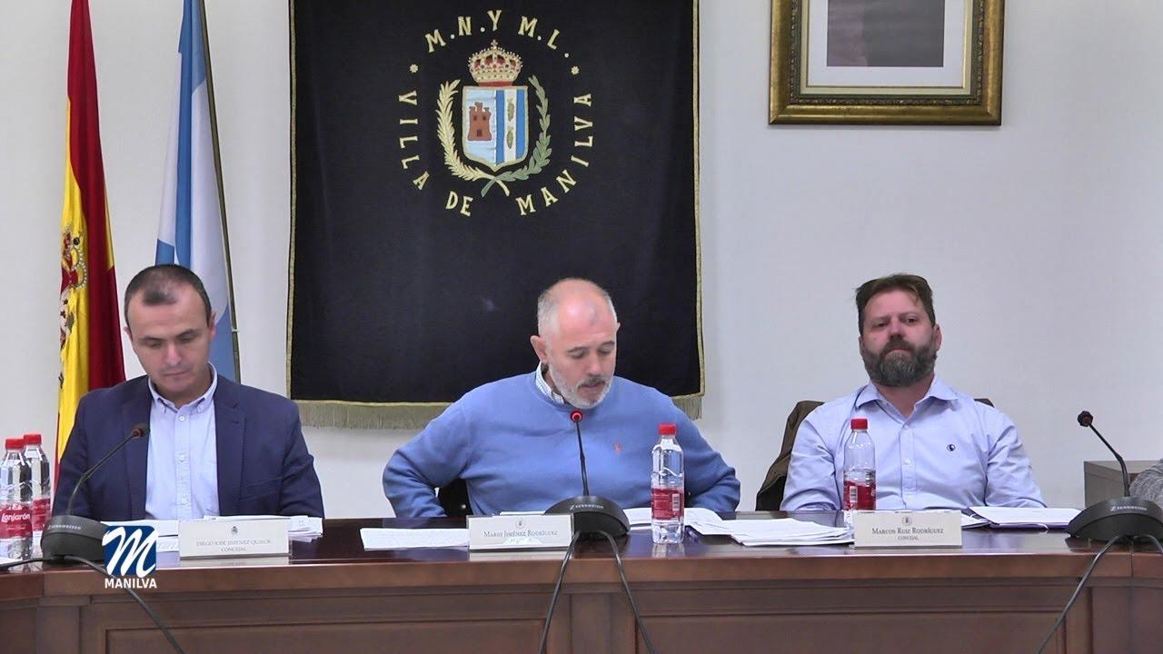 PLENO EXTRAORDINARIO DEL AYUNTAMIENTO DE MANILVA