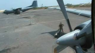 preview picture of video 'Last takeoff of an german Breguet Atlantic from djibouti 61+05'