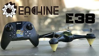 Eachine E38 720p Optical Flow WiFi FPV Camera Drone