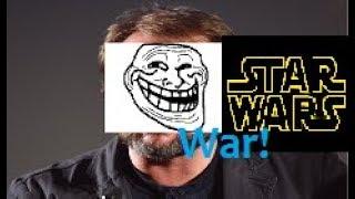Rian Johnson cannot (properly) defend his work || Rian Johnson's war with the Star Wars fanbase