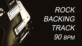 Slow Rock Guitar Backing Track E minor G major