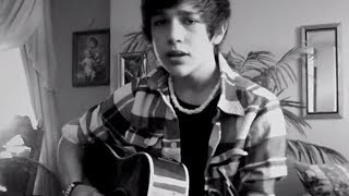 """Favorite Girl"" Justin Bieber cover - 15 year old Austin Mahone - HATLESS!"
