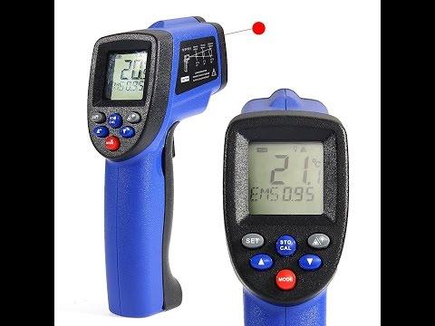 Recensione iTA COLEMETER Termometro Pistola Digitale ad Infrarossi Laser, Super Range -50°C~900°C