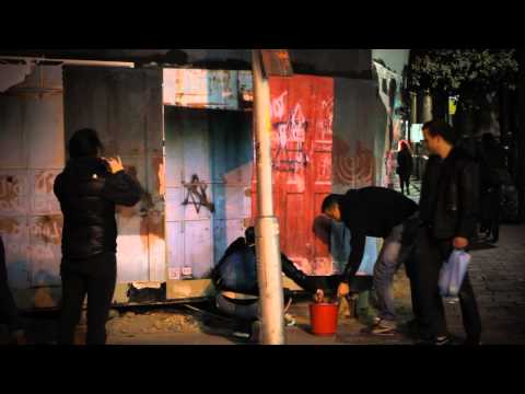 רחוב אלנבי סגור לתנועת אזרחים ישראלים