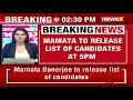 WB CM Mamata To Release Key Candidate List At 5 PM Today | WB Poll Blitz Updates | NewsX - Video