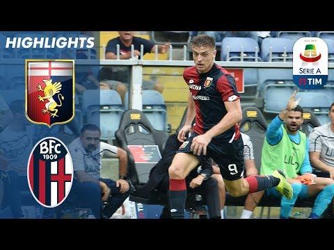 Genoa 1-0 Bologna | Krzysztof Piątek Scores The Winning Goal For Genoa |  Serie A