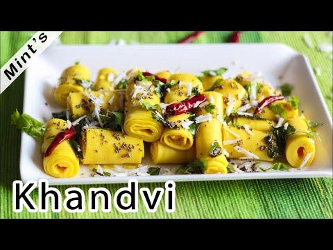 Khandvi Recipe In Hindi – Vegetarian Recipes – Gujrati Recipes Indian Food – Ep-156