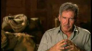 Indiana Jones 4 - Harrison Ford interview PART 1/2