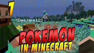 Pokemon In Minecraft - Episode 1 - A Wild Friend Appears