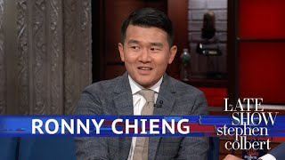 Ronny Chieng Brings Stephen A 'Colbert Report' Souvenir - Video Youtube