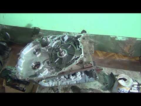 Mitsubishi Outlander JF011e разборка и дефектовка
