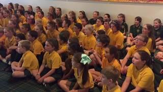 Mittagong Public School Choir cover Rihanna's 'Diamonds'