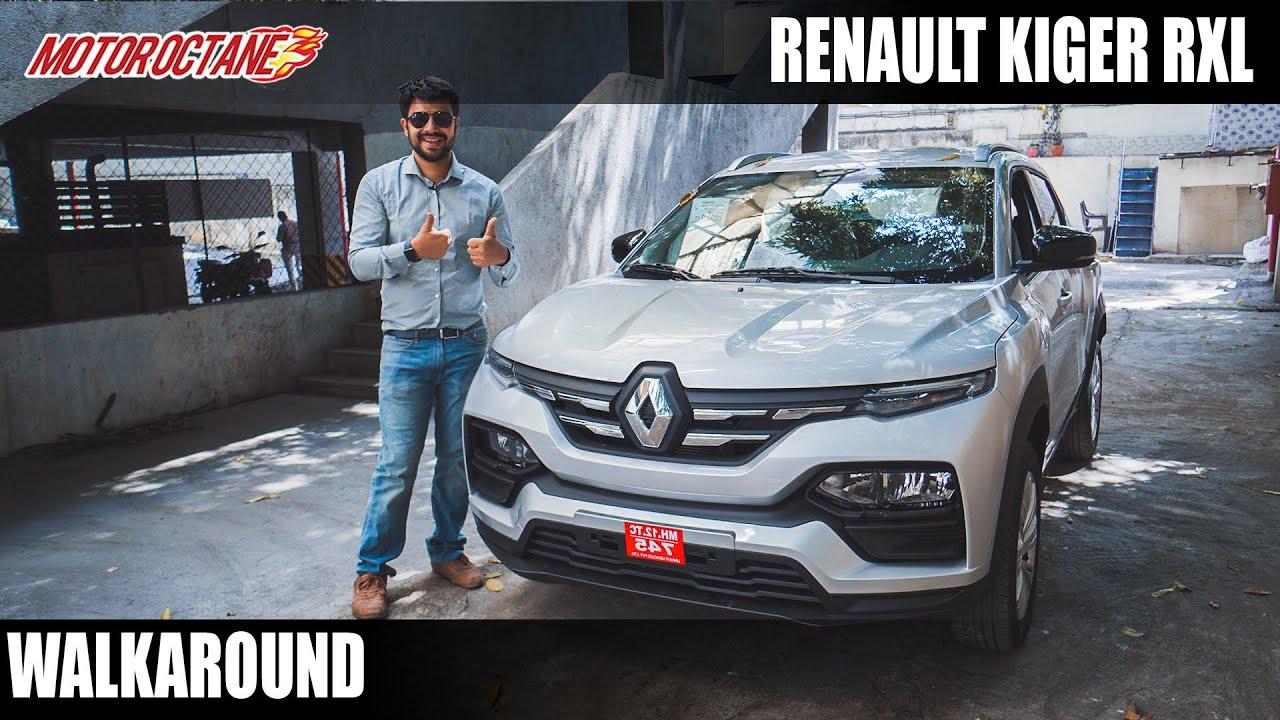 Motoroctane Youtube Video - Renault Kiger RxL Walkaround - Rs 6.15 lakhs (on-road, Mumbai)