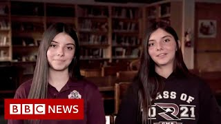 Crossing the border to go to school in the US - BBC News