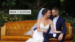 Max + Alyssa - A Gorgeous Summer Wedding @ Black Barn Vineyard - Rives Junction, MI