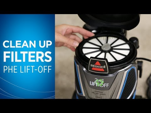 Cleaning Filters Pet Hair® Eraser Lift-Off® Video