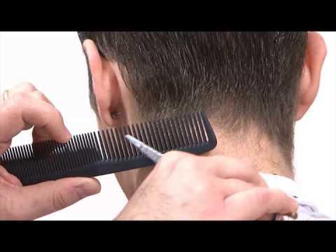 Corso Taglio Maschile | Sfumatura pettine e forbici - Esercizio base - Male Haircut Course