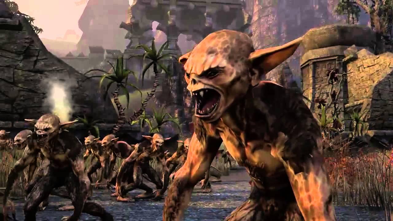 Elder Scrolls Online: видео -