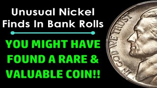 HAVE YOU FOUND THESE UNUSUAL NICKELS IN CHANGE? - VALUABLE COINS TO LOOK FOR!
