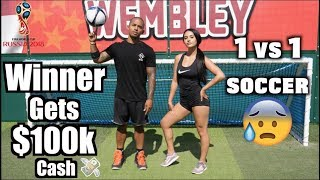 Playing DREE SOCCER for $100k CASH!