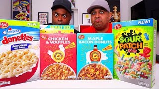 Mystery Cereal Taste Test with DASHIE!
